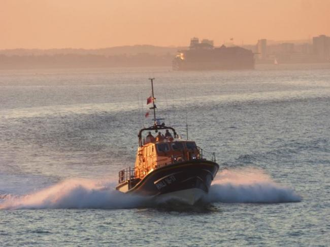 Bembridge RNLI Lifeboat had a busy shout last night. Picture from Bembride RNLI.