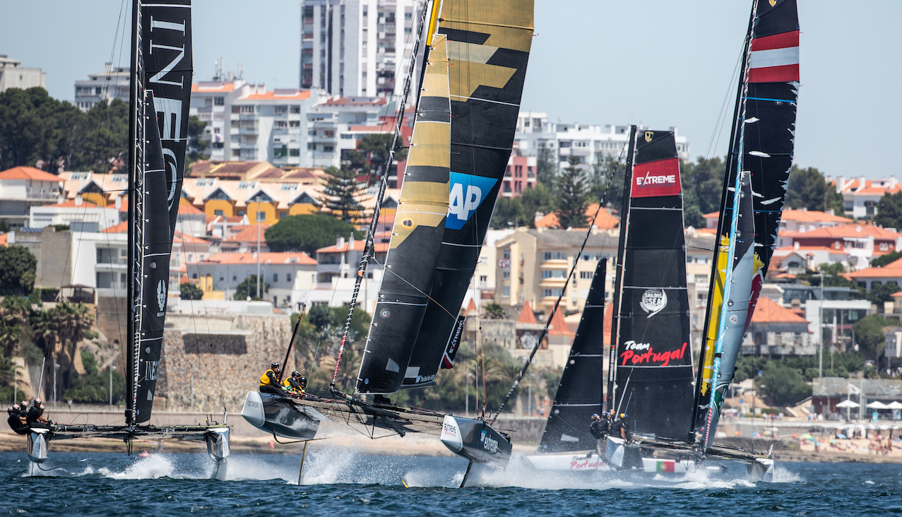 SAP Extreme Sailing Team smashed-the-fastest-speed-in-the-event-ever