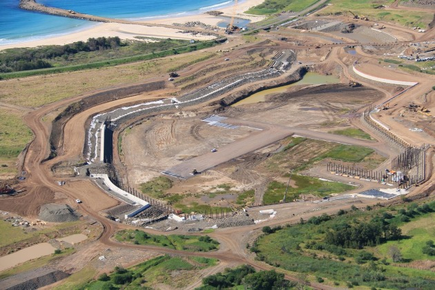 Construction work begins on Shell Cove Marina