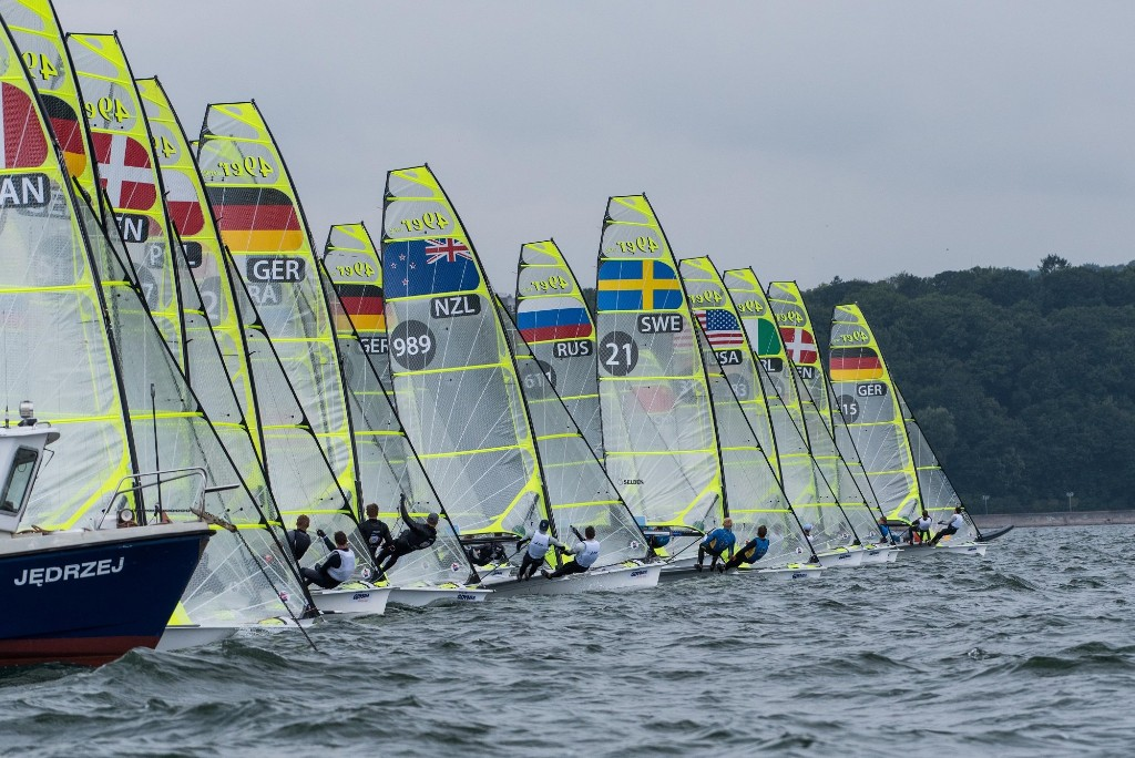 49ers at the Europeans 2018.