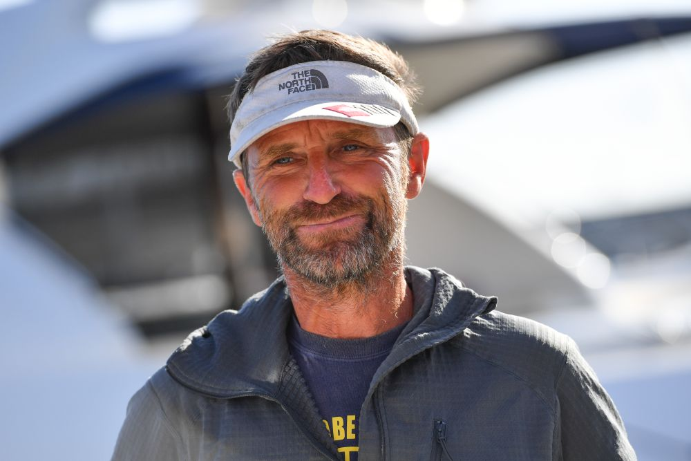 Disappointed - Australian adventurer Kevin Farebrother