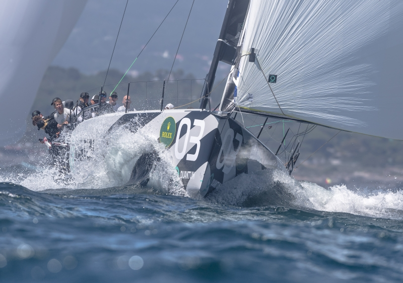 Quantum Racing at the 2018 TP52 Worlds.