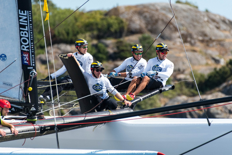 Ian Williams and his GAC Pindar team in Norway. Photo Drew Malcolm/WMRT