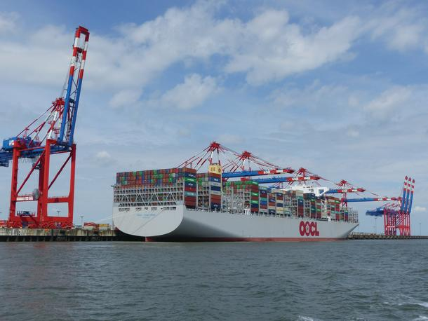 OCL Hong Kong in Wilhelmshaven.