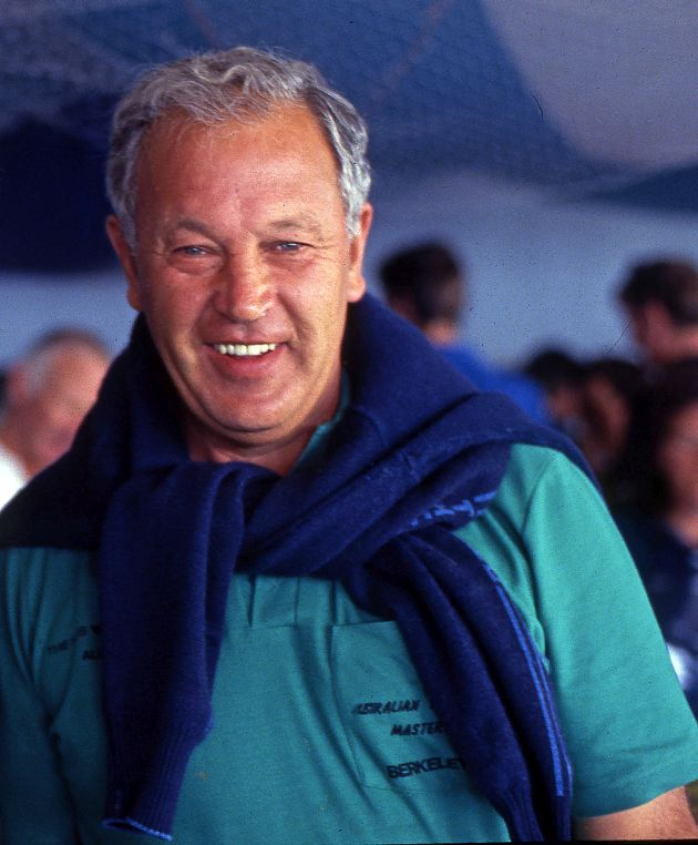 1972 Australian Olympian Ken Berkeley. Photo Bob Ross.