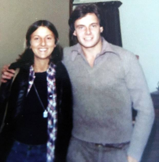 Innocent victims: The last-known picture of Peta Frampton and Chris Farmer together