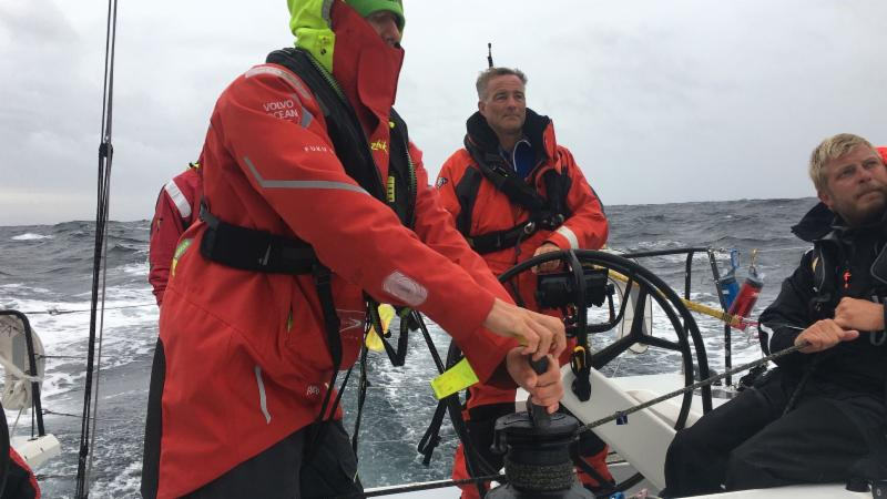 Giles Redpath reported over 20 knots of boat speed yesterday on board his Lombard 46 Pata Negra © Pata Negra.