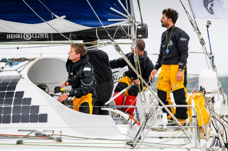 Closing in on the 40ft world record? Phil Sharp's Imerys Clean Energy © Paul Wyeth/RORC.