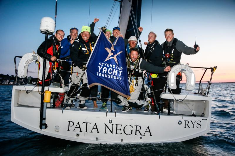 Overall winner of the 2018 Sevenstar Round Britain and Ireland Race - Giles Redpath's Lombard 46 Pata Negra © Paul Wyeth.