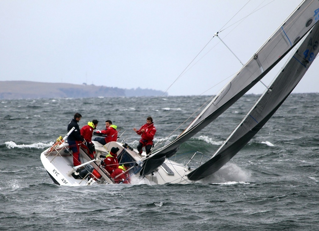 Kettering Yacht Club''s Rad is a Channel entry for the Pipe Opener.  Photo Peter Campbell.