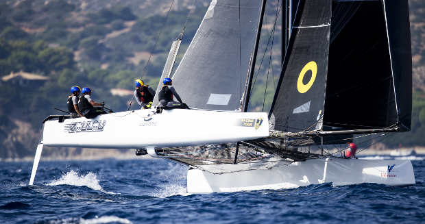 Zoulou-leads-the-owner-driver-class-after-scoring-two-bullets---Sailing-Energy-GC32-Tour pic