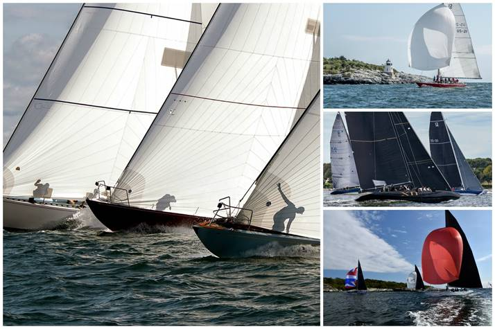 The 2019 12 Metre North American Championship was hosted by Ida Lewis Yacht Club in Newport