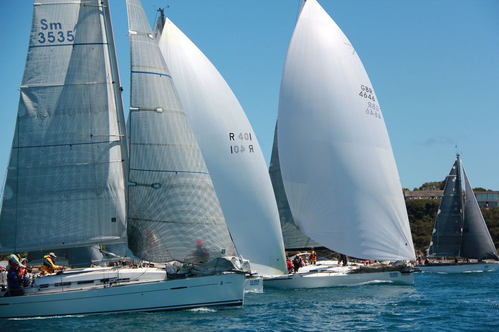 Off and racing in the Melbourne to Devonport 2017 - ORCV pic