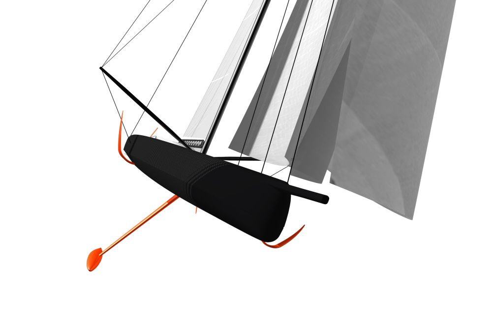 Rendering of a possible future design for the Volvo Race.