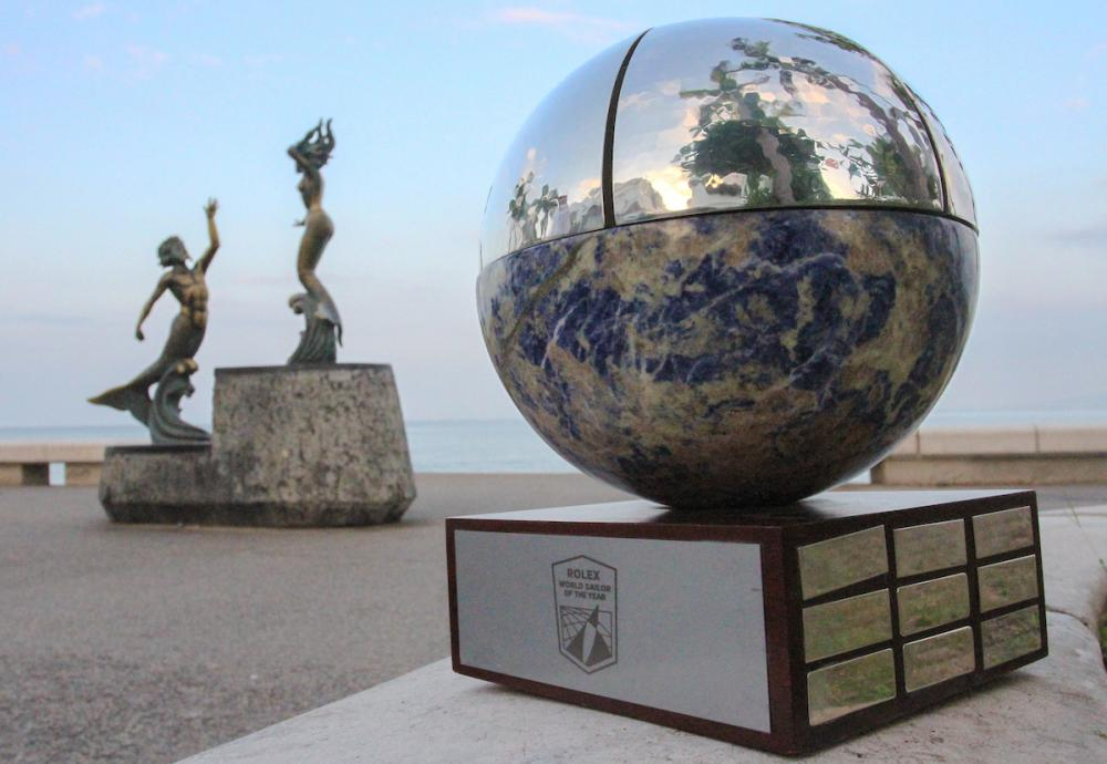 Rolex International Sailor of the Year awards.