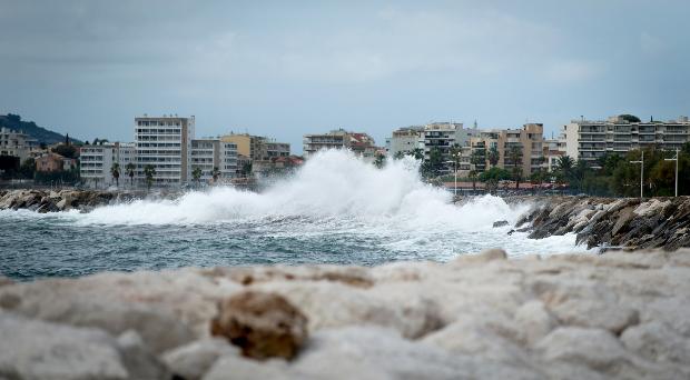 Big-waves-on-the-Rade-de-Toulon - Sailing Energy/GC32 Racing Tour pic