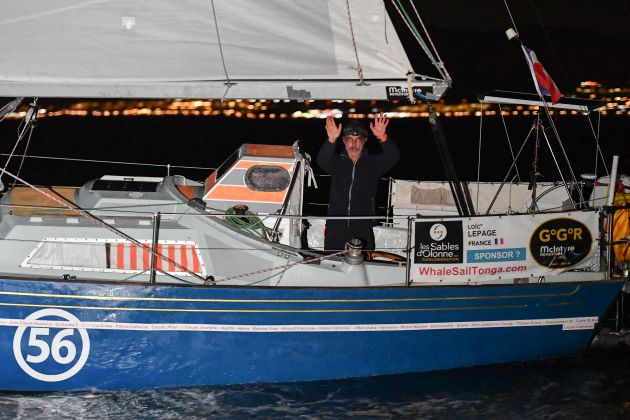 Loïc Lepage - highly experienced with three solo transatlantic crossings under his belt before the Golden Globe Race.