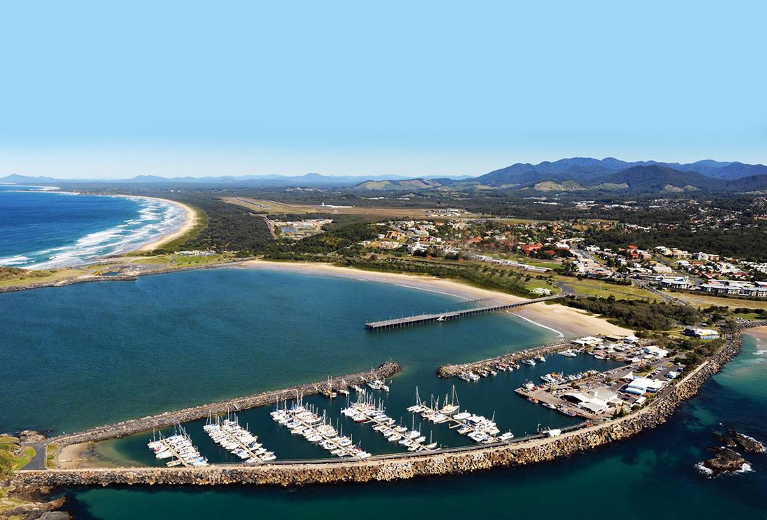 Coffs Harbour International Marina.