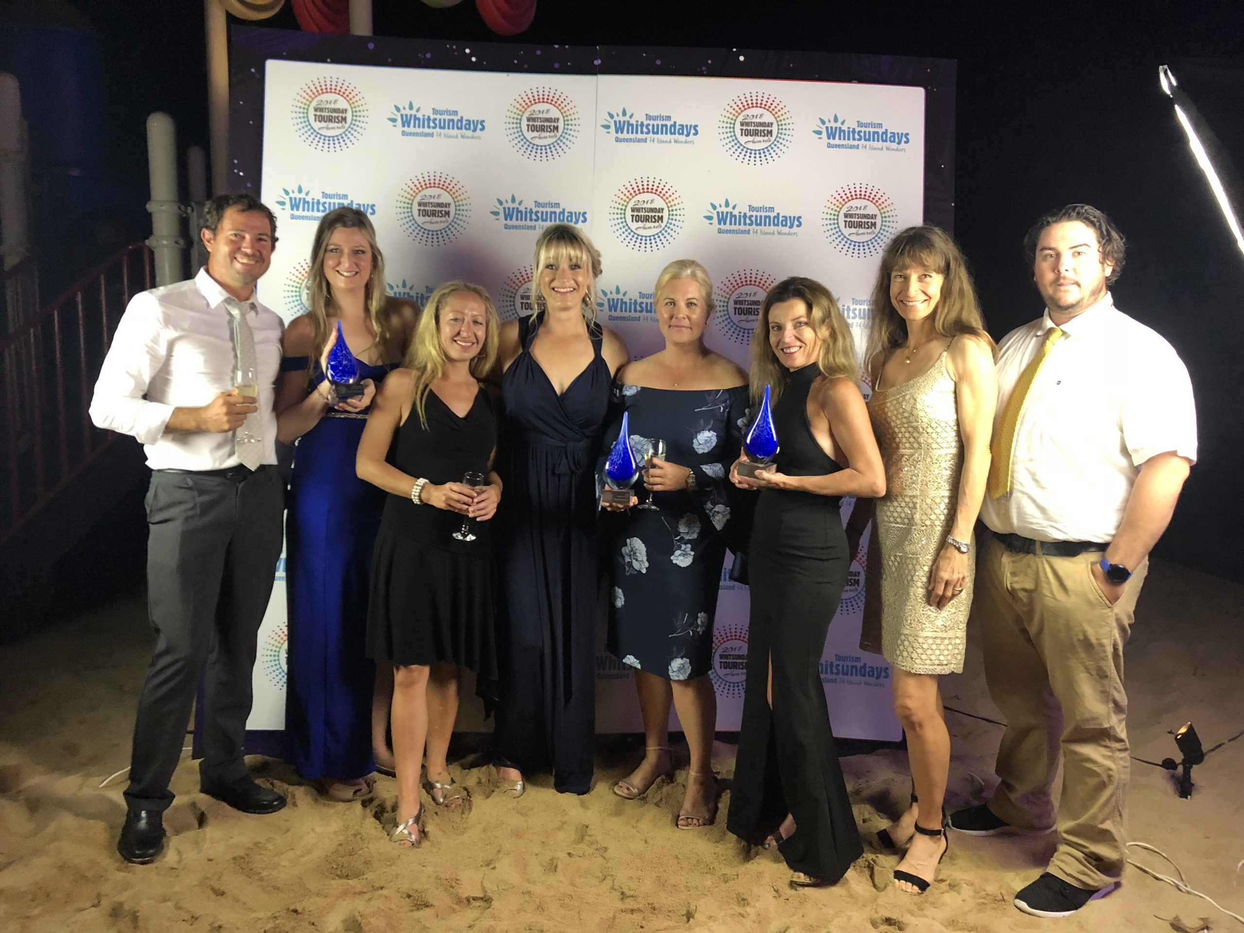 2018 Whitsunday Tourism Awards.