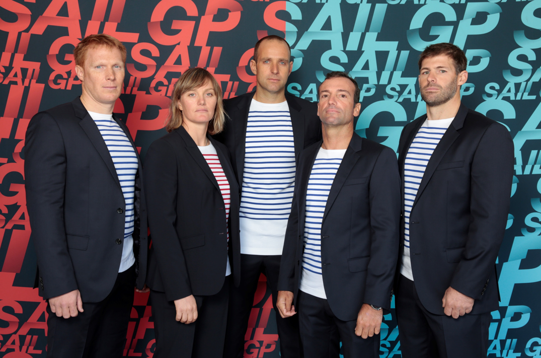 The French SailGP team