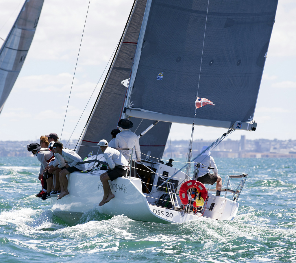 Philosopher won IRC and AMS categories of Division 1 in the Isle of Caves Race. Photo Australian Sailing.