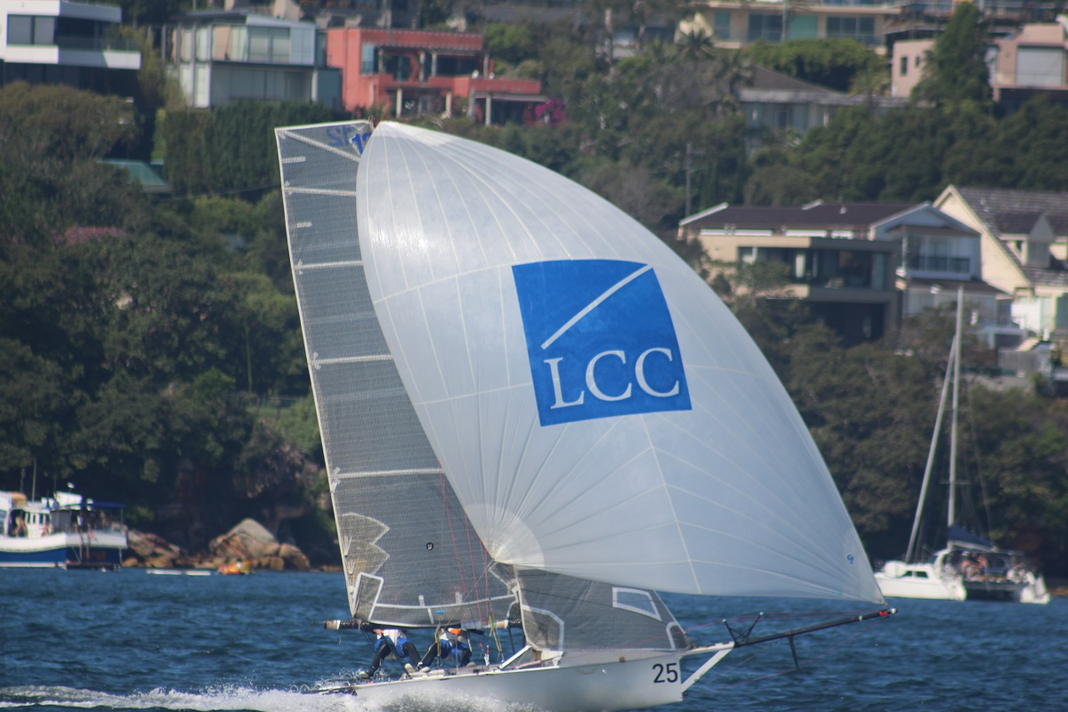 LCC-Asia-Pacifc-was-fast-off-the-start-but-a-capsize-cost-her - Vita Williams pic