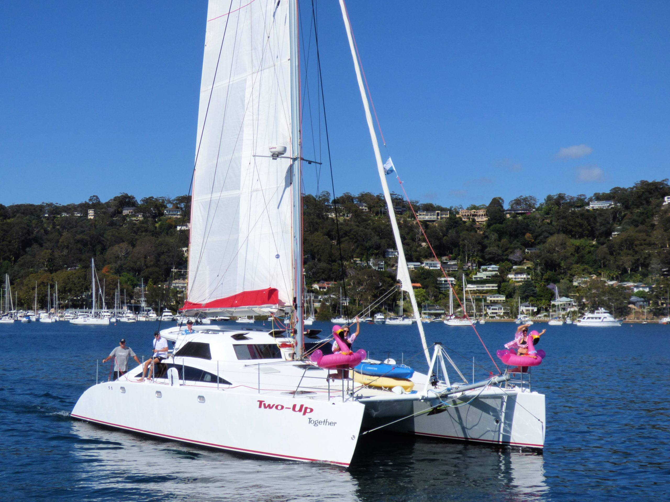 Last chance to join the Multihull Solutions Pittwater Rally in November.