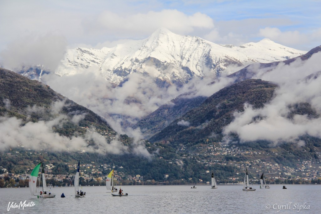 Match racing in Ascona – Credit: Cyrill Sipka
