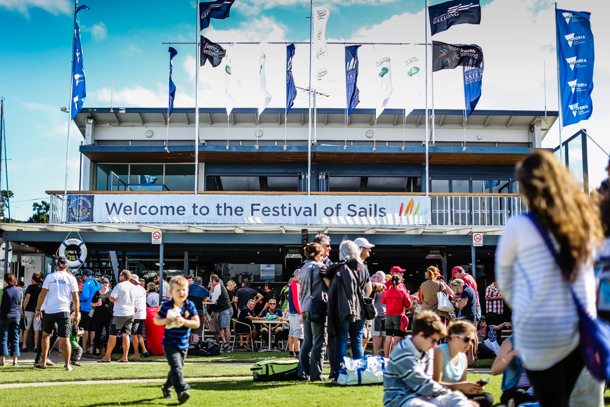 RGYC home of the Festival of Sails. Photo credit Salty Dingo.