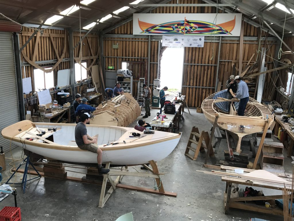 Work has already started on the Haven at Tasmania's Wooden Boat Centre.