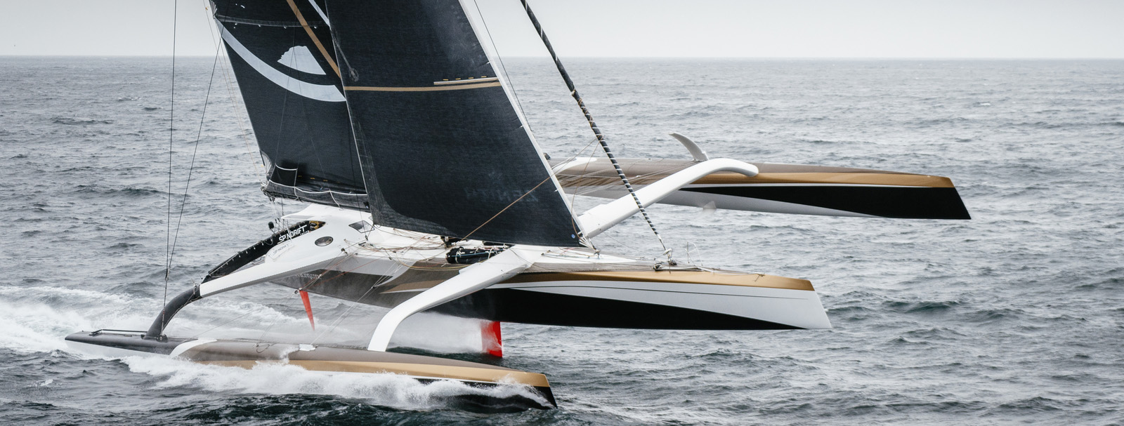 Spindrift Racing - off on a new Jules Verne attempt - Chris Schmid pic
