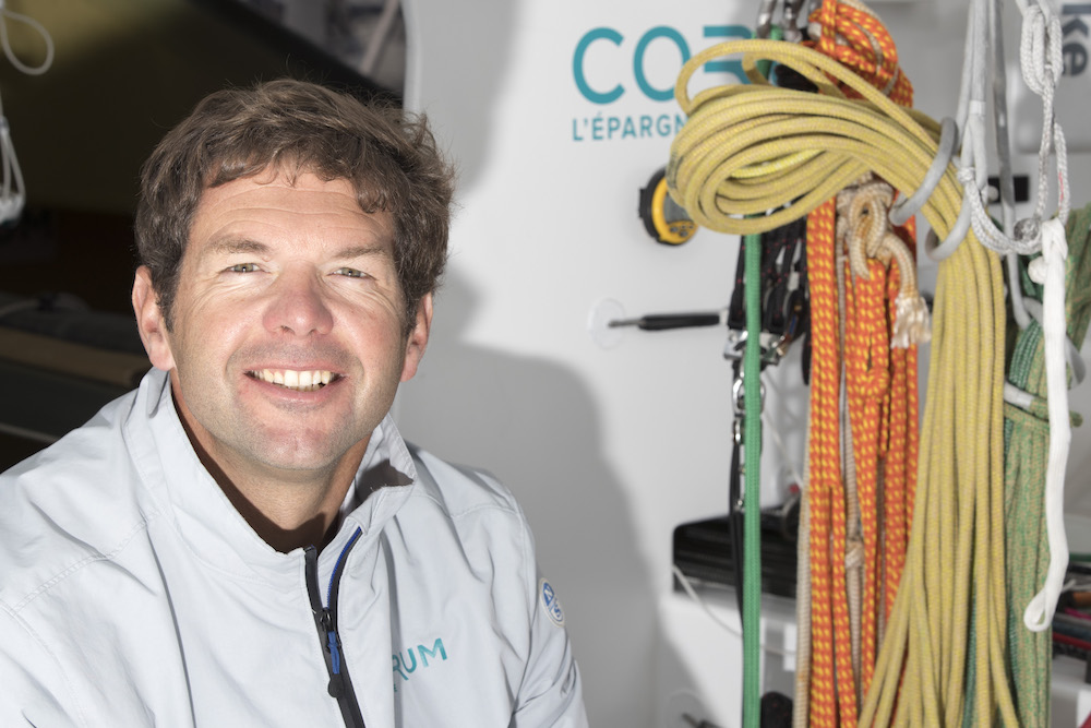 Nicolas Troussel is launching-a-new IMOCA - Alex Courcoux pic