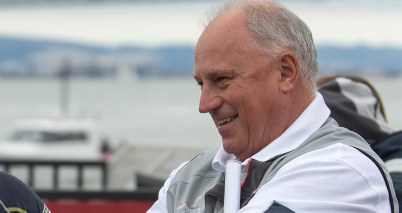 Iain Murray steered his crew to the title win - Gilles Martin-Raget pic