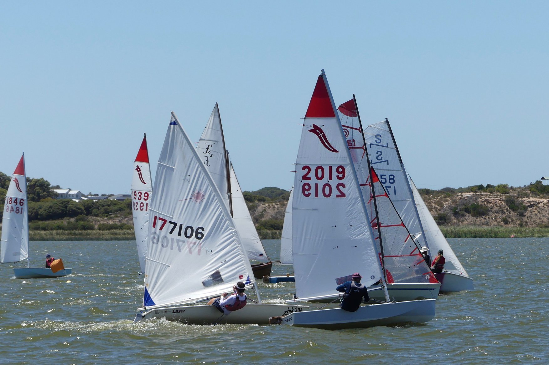 Dinghy-racing-was-hotly-contested---Chris-Caffin-pic