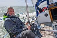 Jean-Luc Van Den Heede has wind and a 215 mile lead