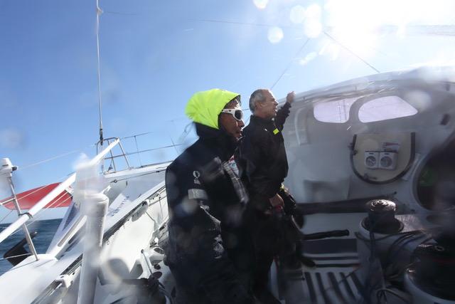 Kojiro-Shiraishi-with-Roland-Jourdain--Team Kojiro-Shiraishi-pic