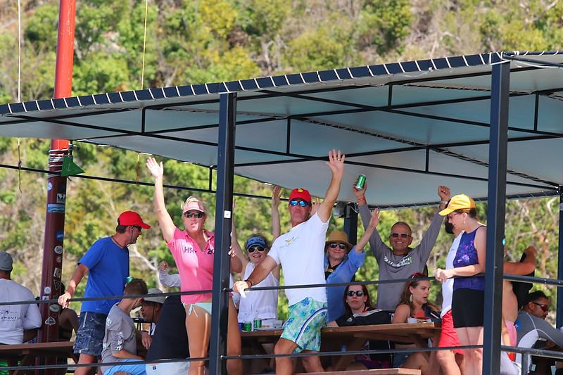 BVI Spring Regatta crews enjoying time at Willy T's © www.ingridabery.com