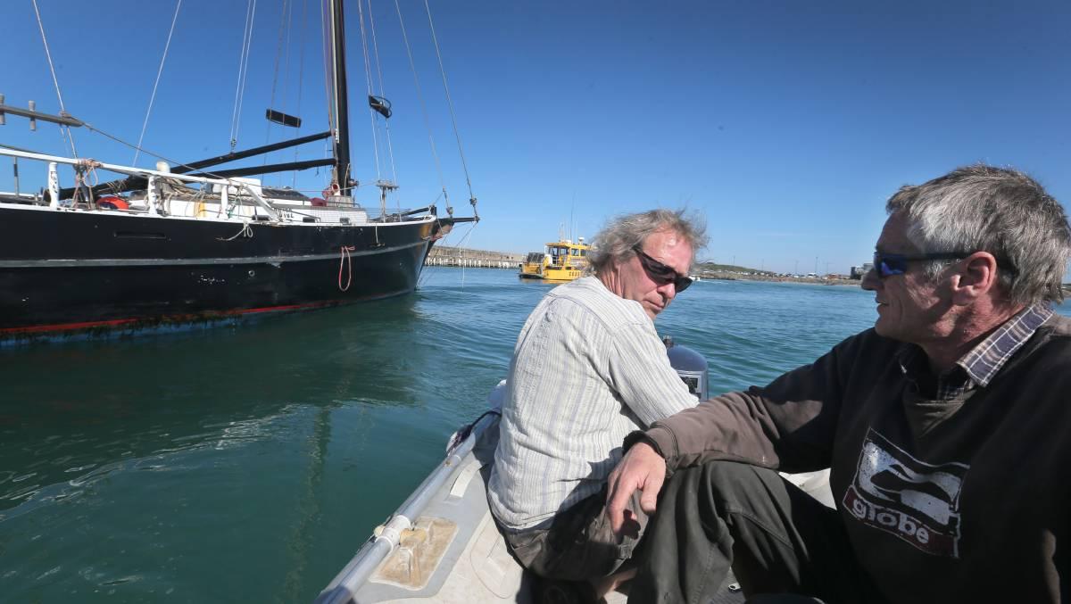 Boat Rebuild: Lyndon Joiner and Peter Trewartha