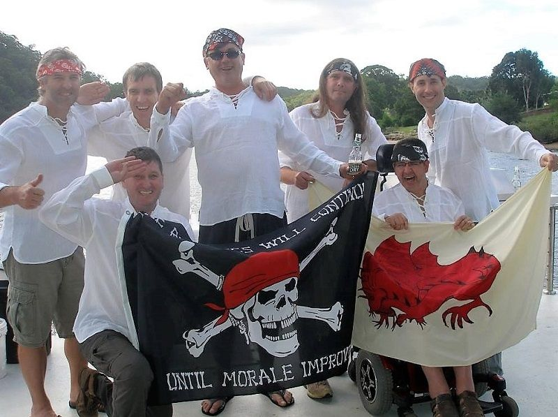 The pirates of the Hawkesbury.
