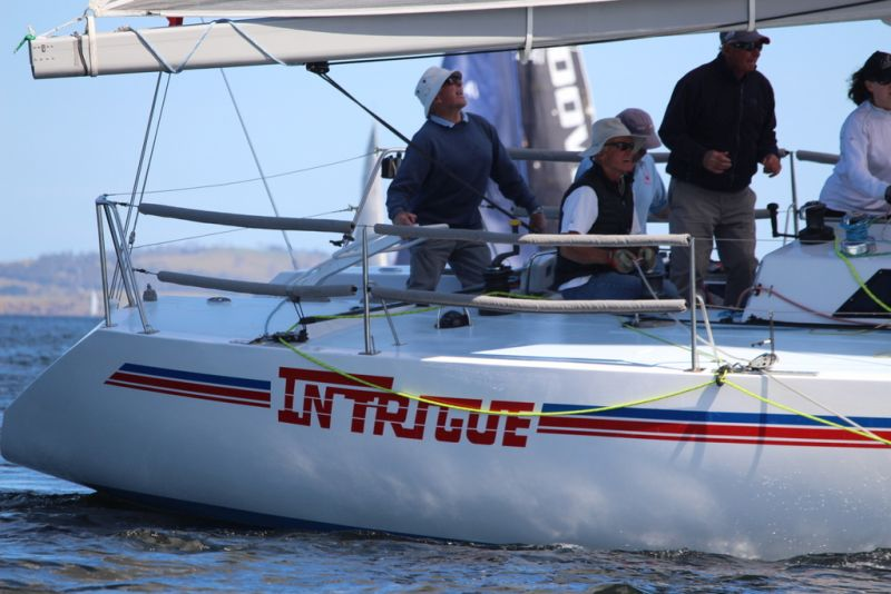 Doyen of the River Derwent yachting