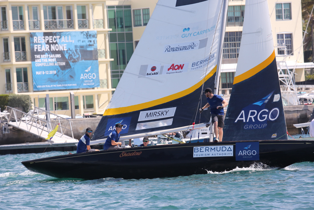 Australian skipper Torvar Mirsky returns for his fifth Argo Group Gold Cup and looking to improve on last year's third-place finish. Mirsky won the Argo Group Gold Cup in 2011 (Charles Anderson photo).
