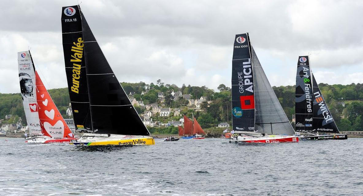 Eighteen IMOCA's will race - Franois-Van-Malleghem-pic