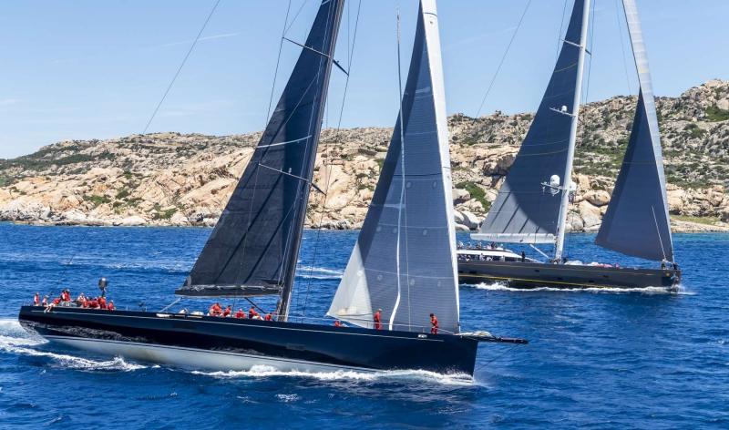 Loro Piana Superyacht Regatta 2018. Photo Credit: YCCS/Borlenghi
