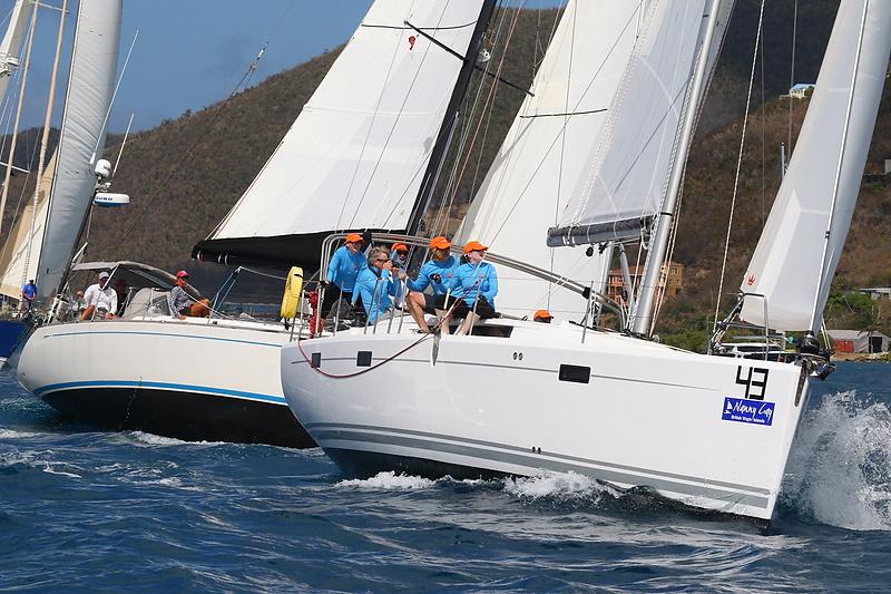 Winning the Hanse class today - Benoit De Grace from Quebec