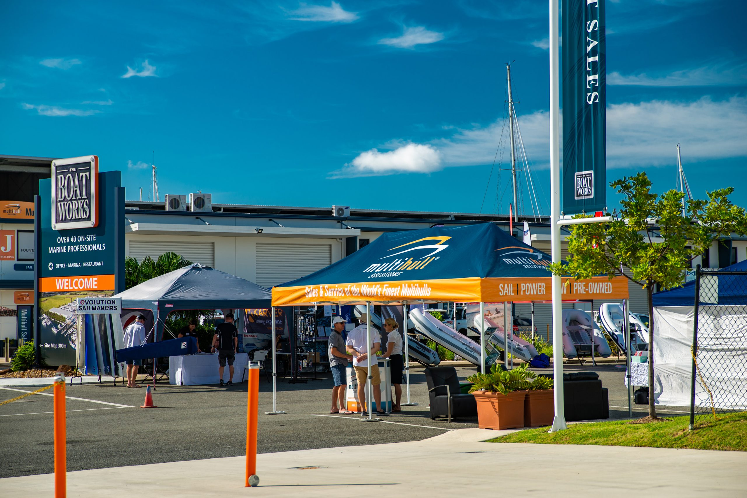 Multihull Solutions' 2019 Gold Coast Boat Show and Open Day was an outstanding success.