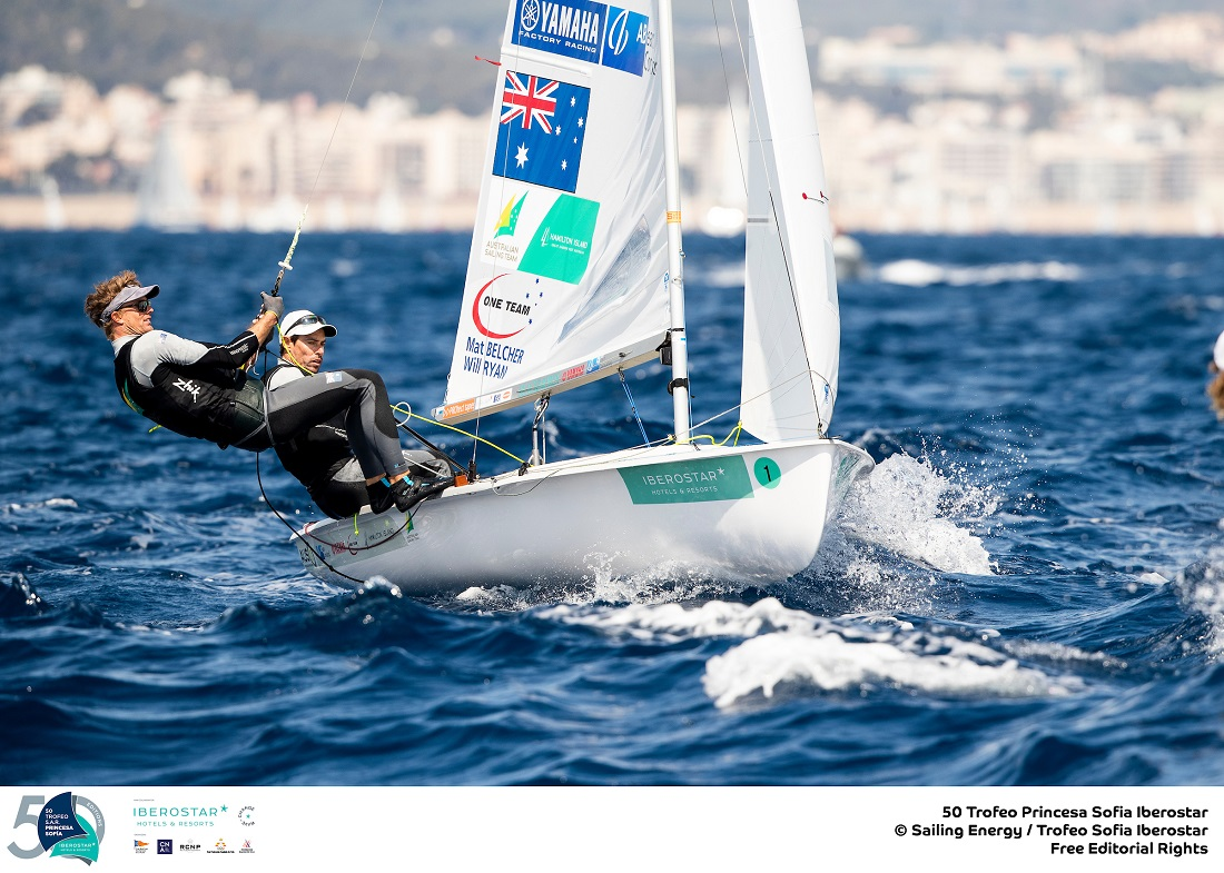An up and down day for Mat Belcher and Will Ryan - Sailing Energy pic
