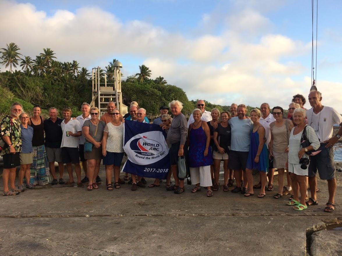 Crews in Niue Credit: WCC