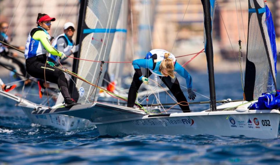 49erFX Gold fleet race - Sailing Energy pic