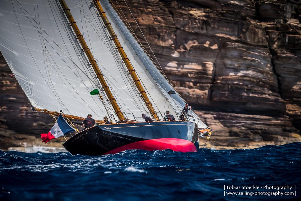 Classic Schooner Class winner 54' schooner Severine