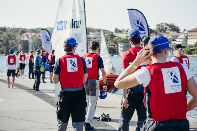 The Royal Sydney Yacht Squadron's open team led by David Chapman is the one the CYCA and others are chasing down.